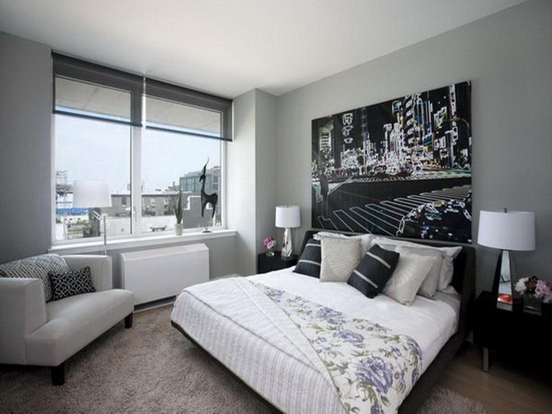 الوان غرف نوم بيضاء (5)