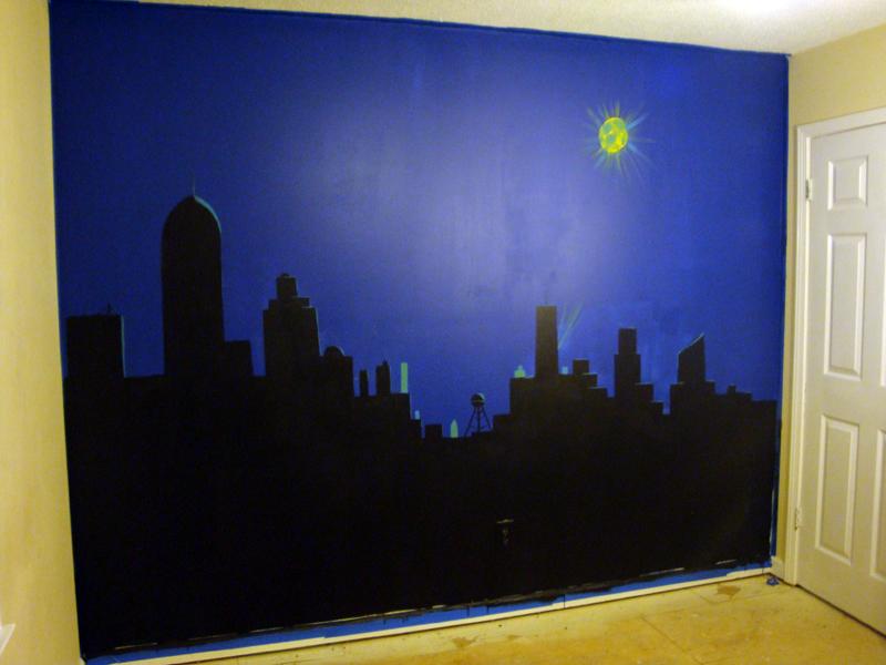 رسم على الجدران  (3)
