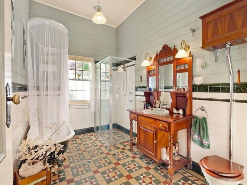 ستائر حمامات بسيطة  (1)
