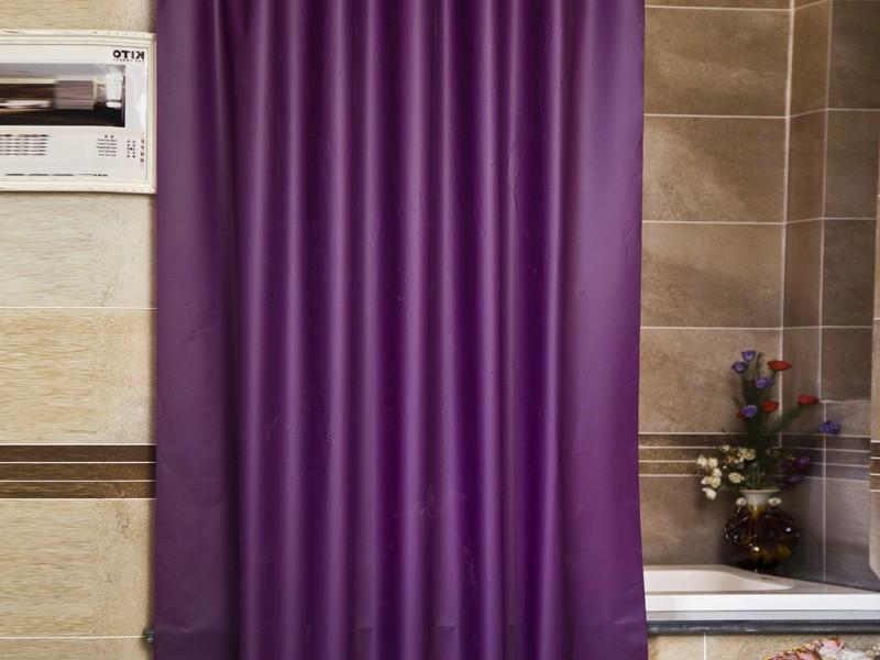 ستائر حمامات بسيطة  (4)