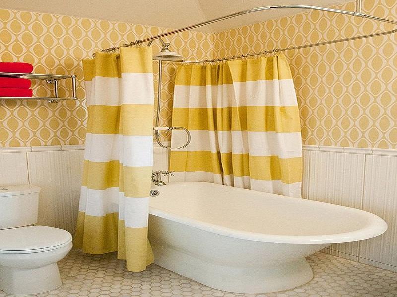 ستائر حمامات جديدة مودرن شيك (4)