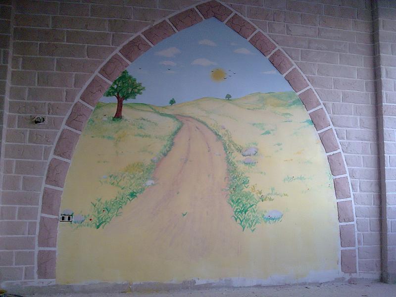 صور الرسم علي الجدران (5)