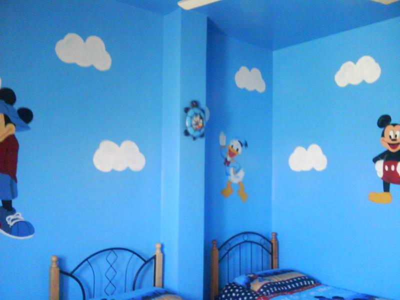 صور رسم على الجدران  (1)