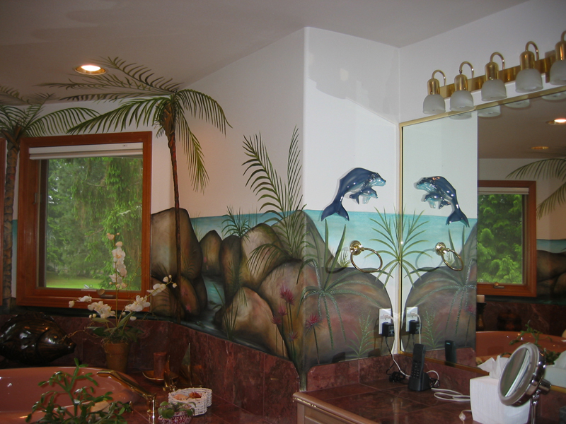 صور رسومات على الجدران  (6)