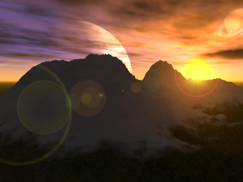 صور طلوع الشمس  (1)
