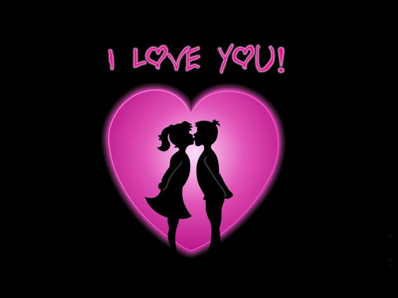 صور مكتوب احبك  (1)