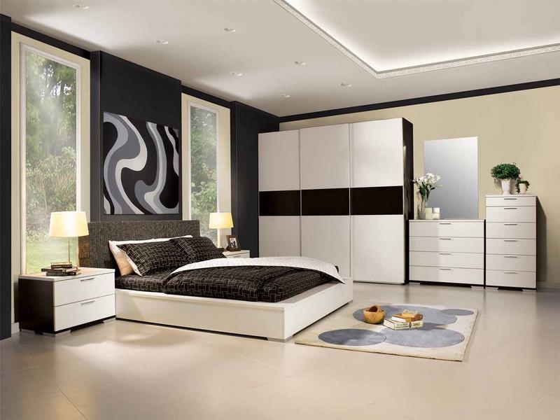 غرفة نوم ابيض  (4)