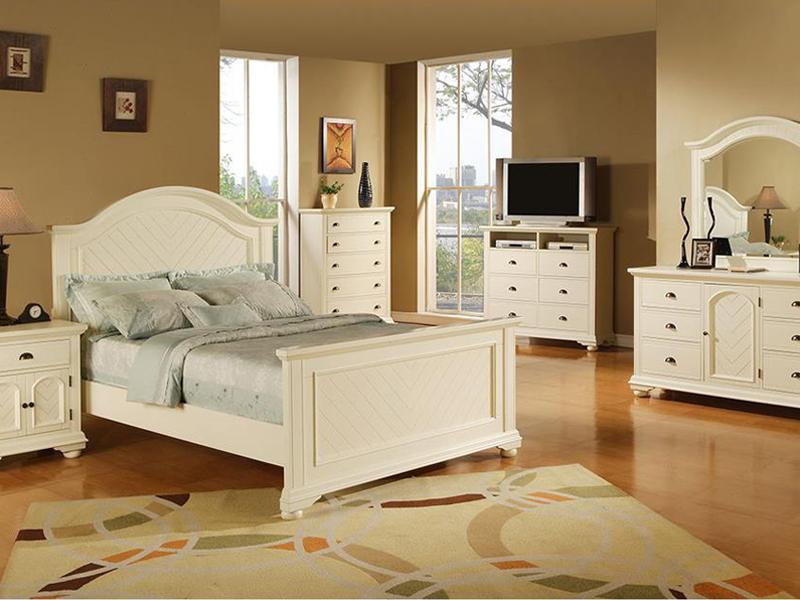 غرفة نوم بيضاء  (2)