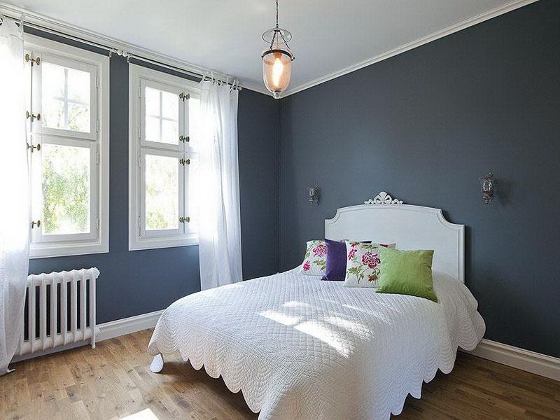 غرف نوم باللون الأبيض (4)