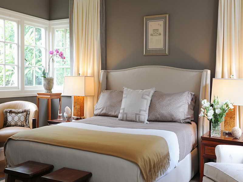 غرف نوم لون ابيض  (5)