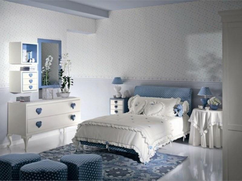 غرف نوم مودرن ابيض  (5)