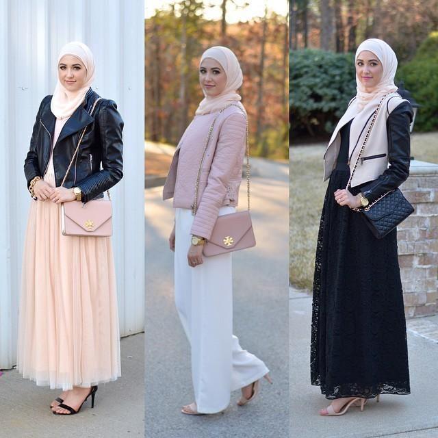 لبس سهرة محجبات 2016 (3)