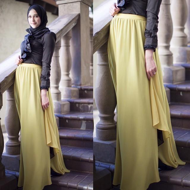 لبس سهرة محجبات 2016 (4)
