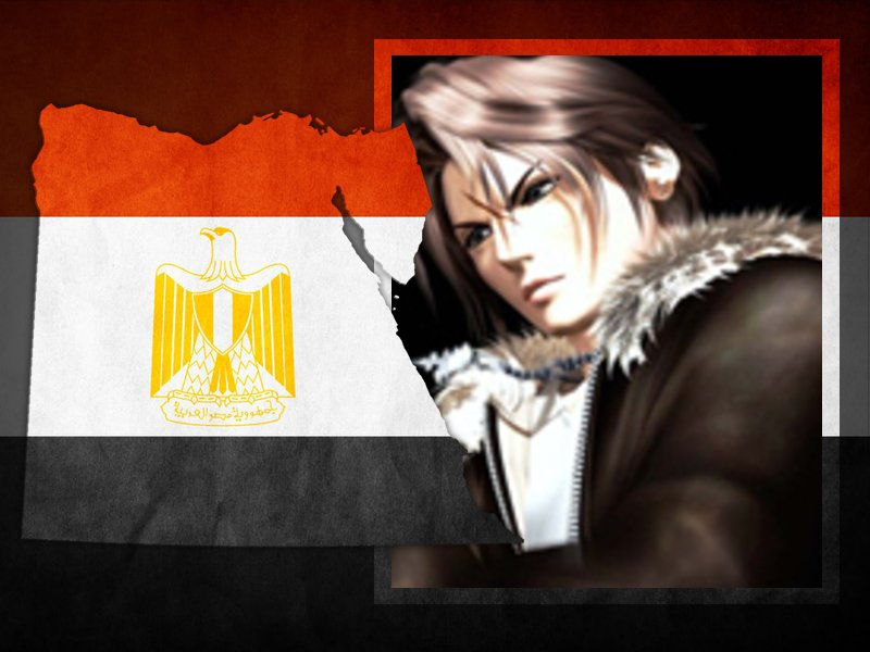 Egypt Flag علم مصر (3)