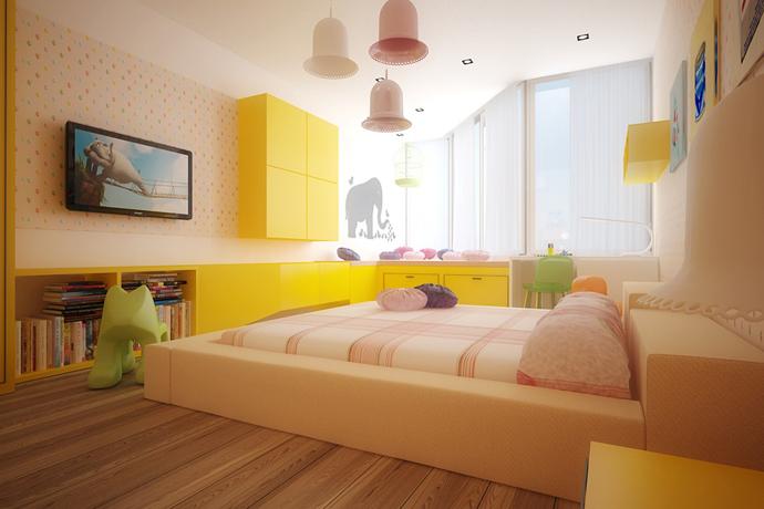 احلي صور غرف اطفال مودرن 2016 (2)