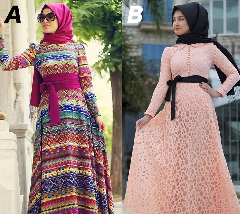 ازياء وملابس محجبات جديدة 2016 (1)