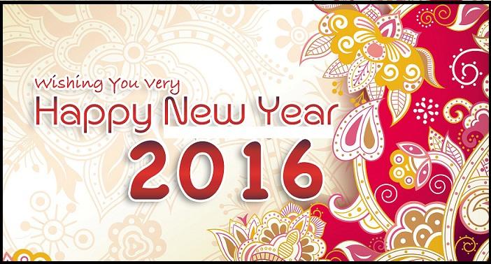 تهنئة بالعام الجديد 2016 3