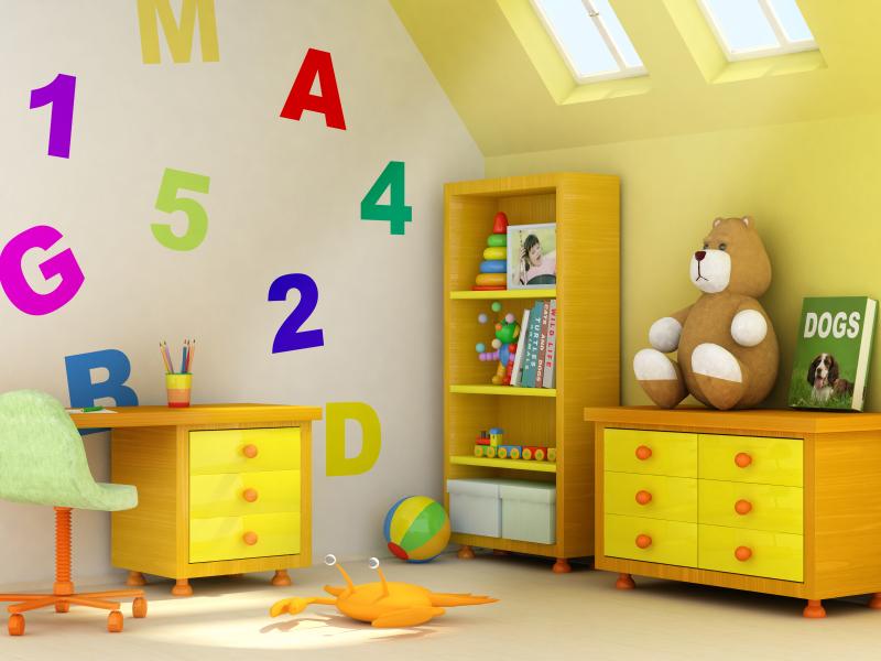 غرف نوم اطفال دمياط 5