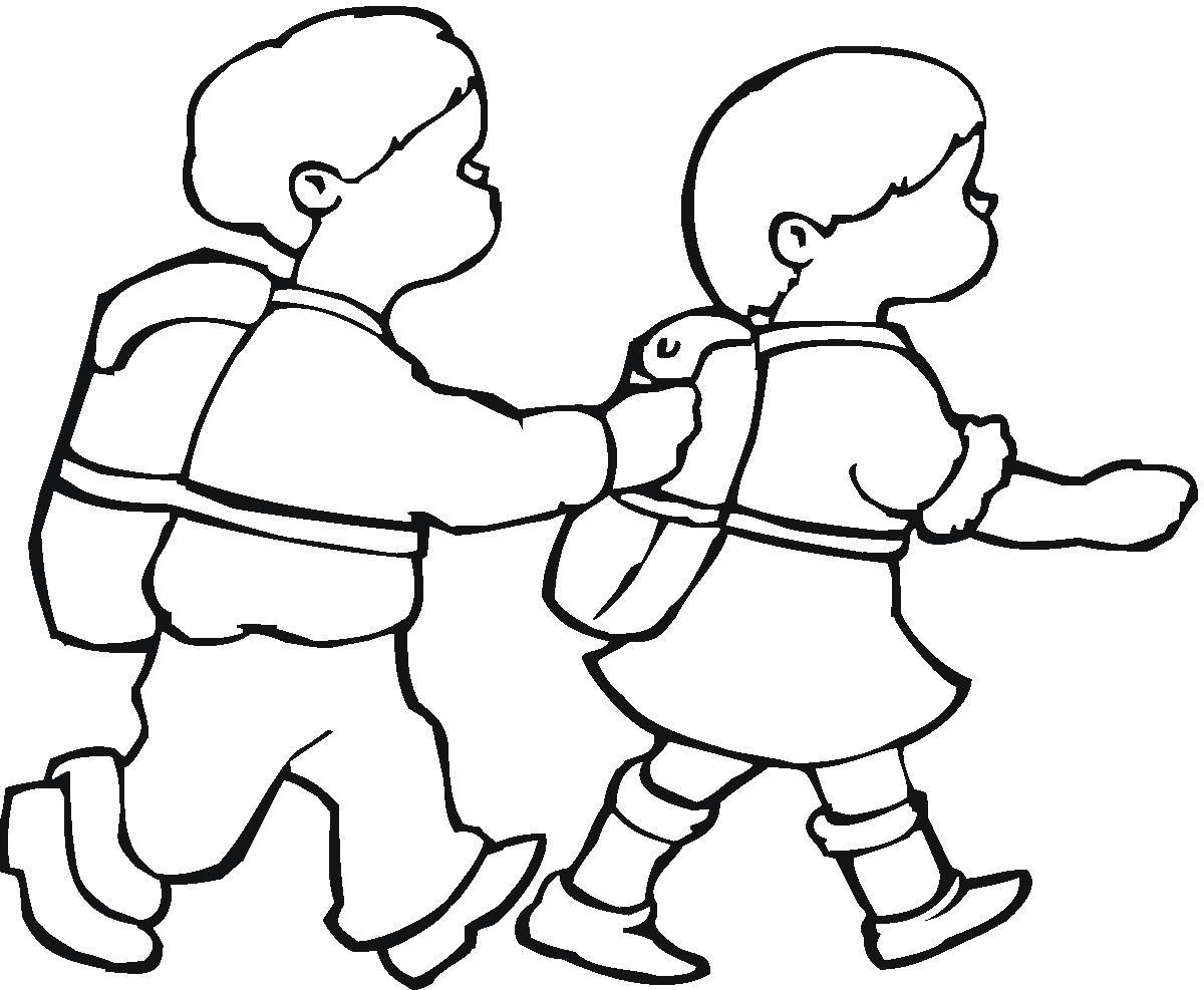 رسومات غير ملونه للتلوين للاطفال (2)
