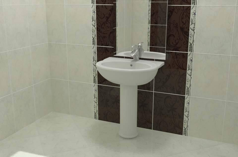 سيراميك حمامات شقق 2016 (2)