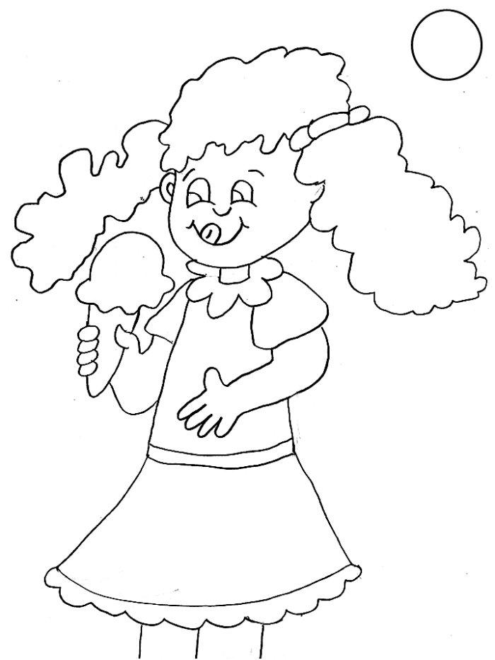 صور رسومات اطفال كرتون للتلوين (1)