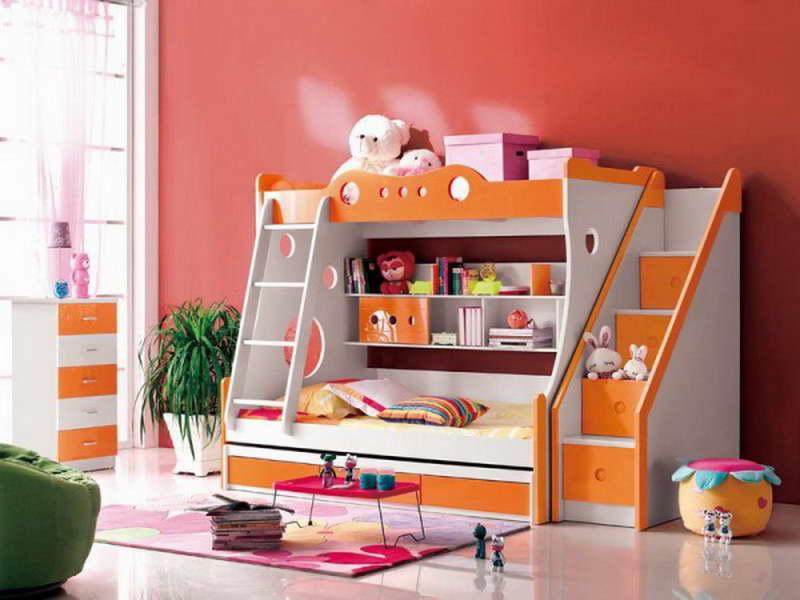 غرف نوم اطفال روعة بالوان جديدة وحديثة مودرن 2016 (2)