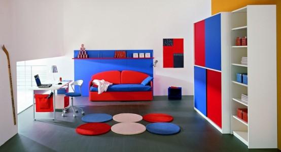 غرف نوم اطفال مودرن جميلة وشيك بتصميمات عالمية2016 (4)
