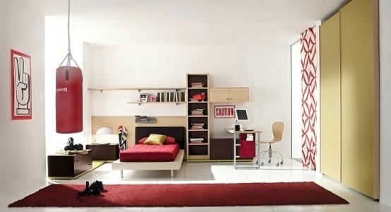 غرف نوم اطفال مودرن جميلة وشيك بتصميمات عالمية2016 (5)