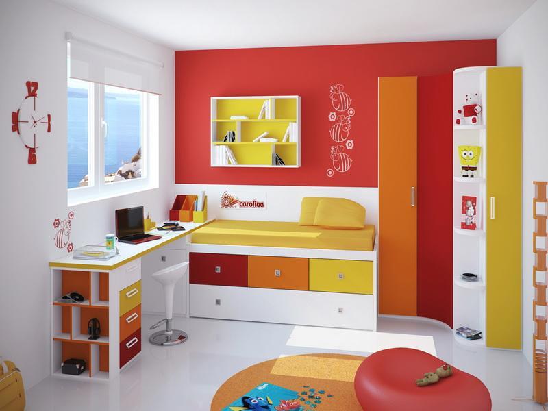 غرف نوم اطفال مودرن من دمياط 2016 (2)