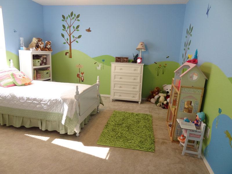 غرف نوم اطفال مودرن (1)