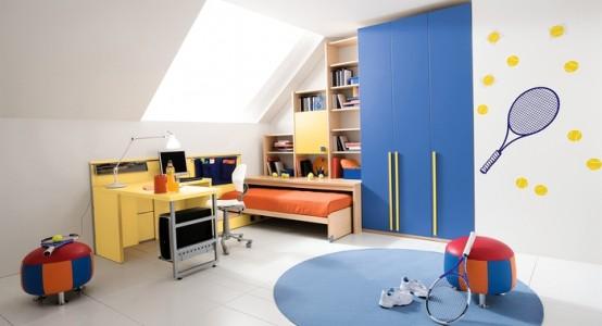 غرف نوم اطفال ولاد بالوان اولادي2016 (6)
