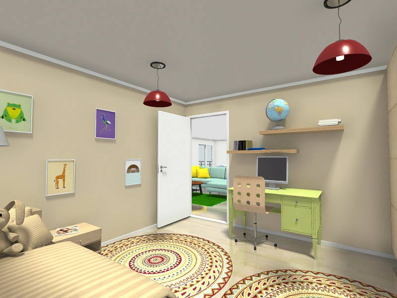 غرف نوم اطفال 2016 (3)