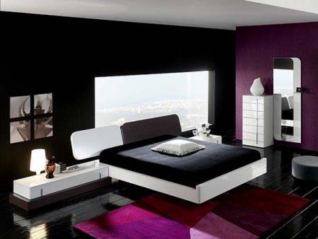 غرف نوم سوداء (2)