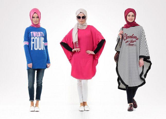 لبس محجبات تركي مودرن شيك جديد 2016 (5)
