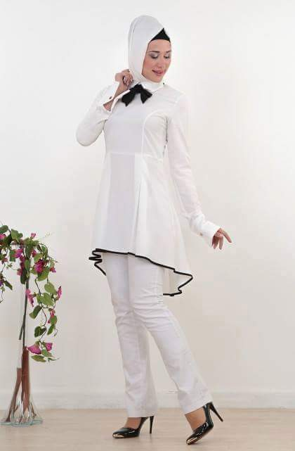 لبس محجبات جديد مودرن شيك (2)