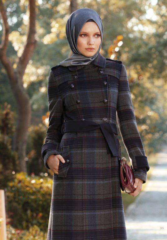 لبس محجبات فخم تركي جديد (2)