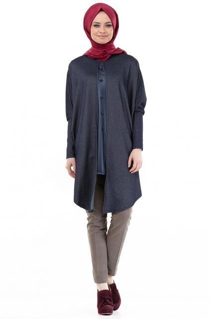 لبس محجبات فخم تركي جديد (5)