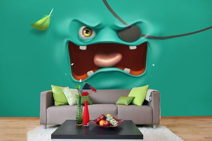 صور ورق حائط 3d تصميمات واشكال مختلفة لورق حائط 3d ميكساتك