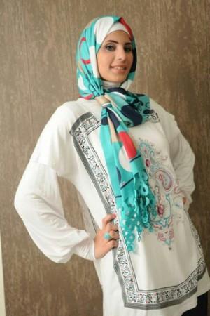 احدث لفات حجاب للمحجبات (1)