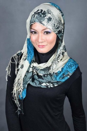 احدث لفات حجاب للمحجبات (2)