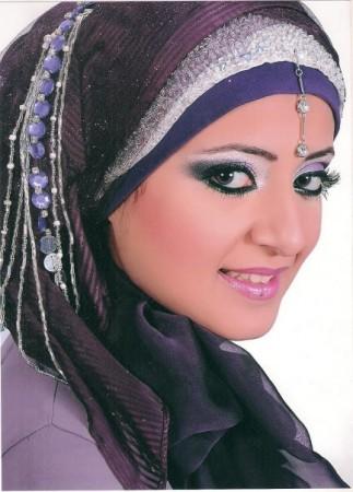 احدث لفات حجاب للمحجبات (3)