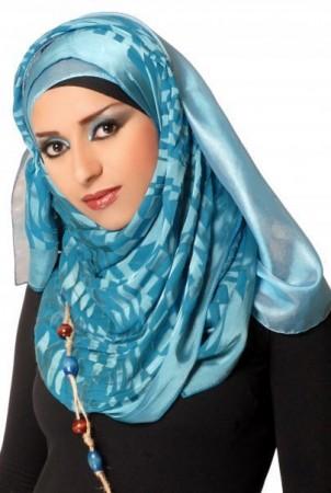 احدث لفات حجاب للمحجبات (4)