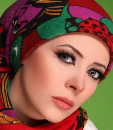 احدث لفات حجاب للمحجبات (5)