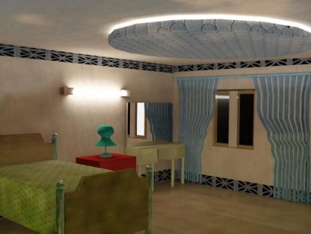الوان غرف نوم 2016 (2)