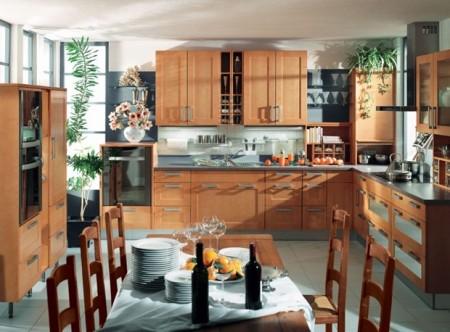 صور تصاميم مطابخ الوميتال وخشب 2016 ديكورات مودرن (1)