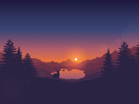 غروب الشمس (1)