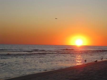غروب الشمس (2)