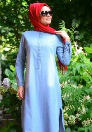 فساتين لبس محجبات جديدة شيك (2)
