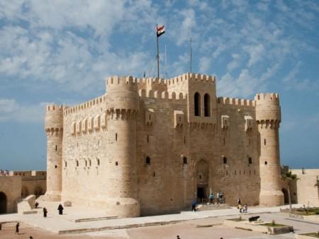 قلعة قايتباي اسكندرية مصر