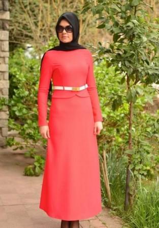 لبس محجبات 2016 جديد شيك موضة جميلة  (2)